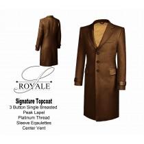 Camel 24k Gold Lined Topcoat