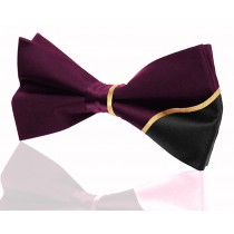 Signature Contrast Purple with 24k Gold Embroidery